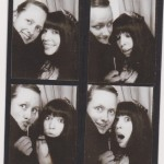 Vintage photo booth shenanigans