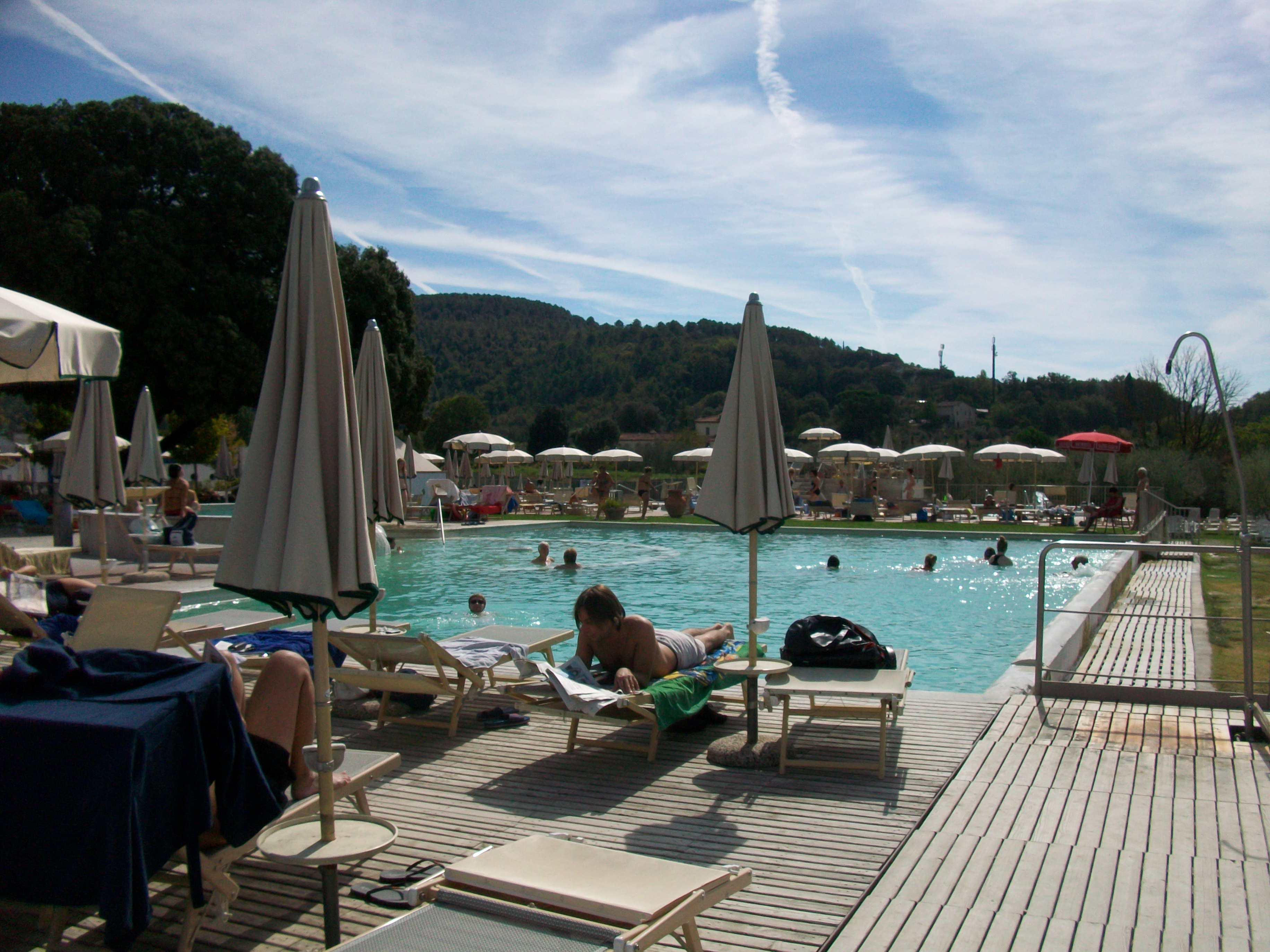 Thermal Spring heaven at Rapolano terme