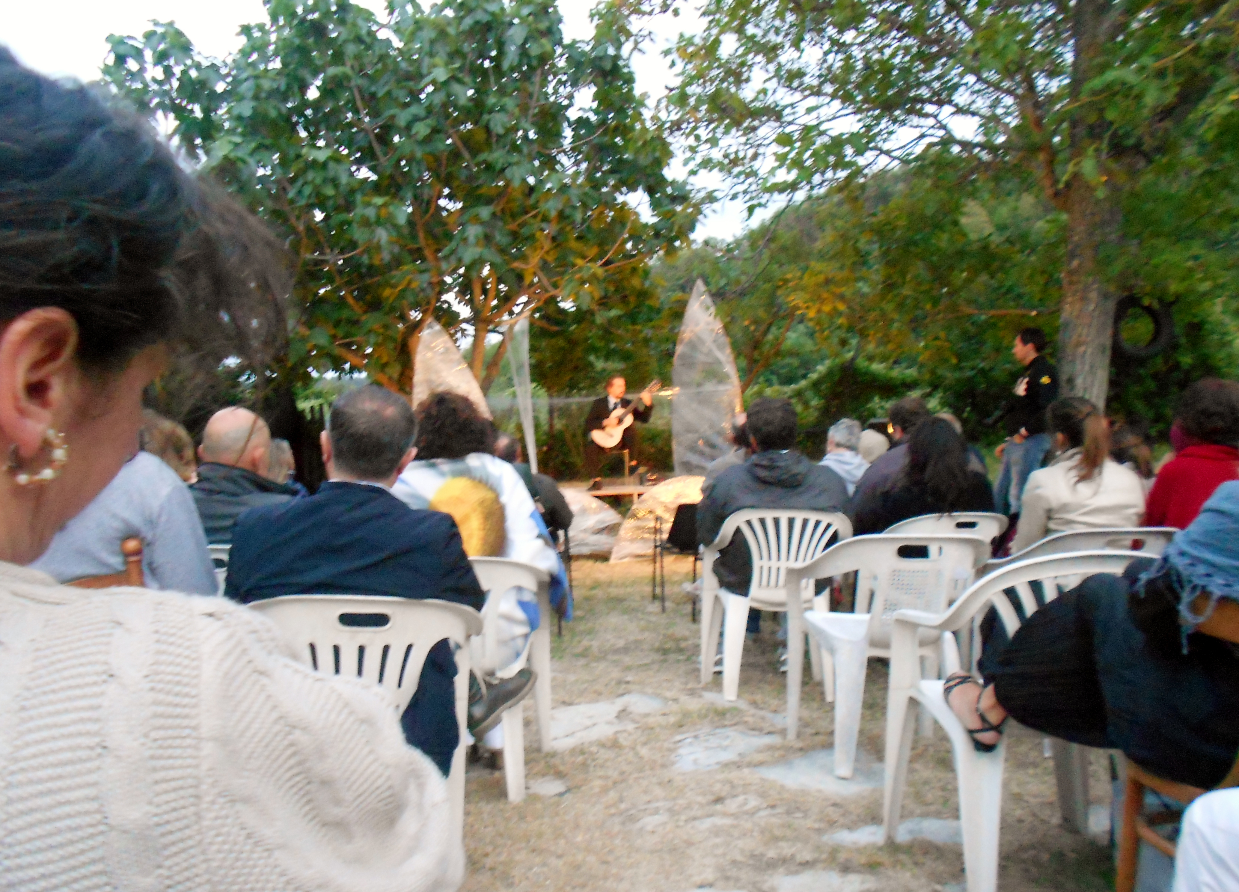 A night of classical music in the Tuscan countryside