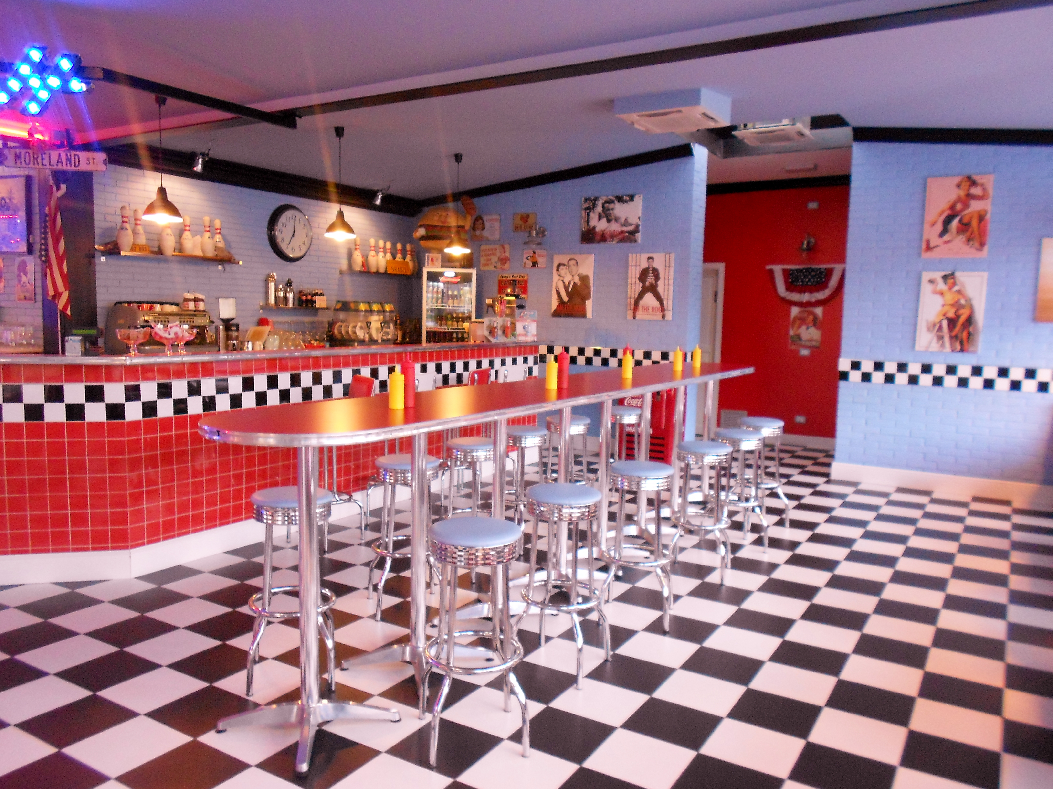 1950s American Diner In Florence No Really Girl