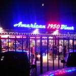 1950's American Diner in Florence, no really!