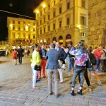 Vogue's Fashion night out in Florence, cocktails & Ferragamo