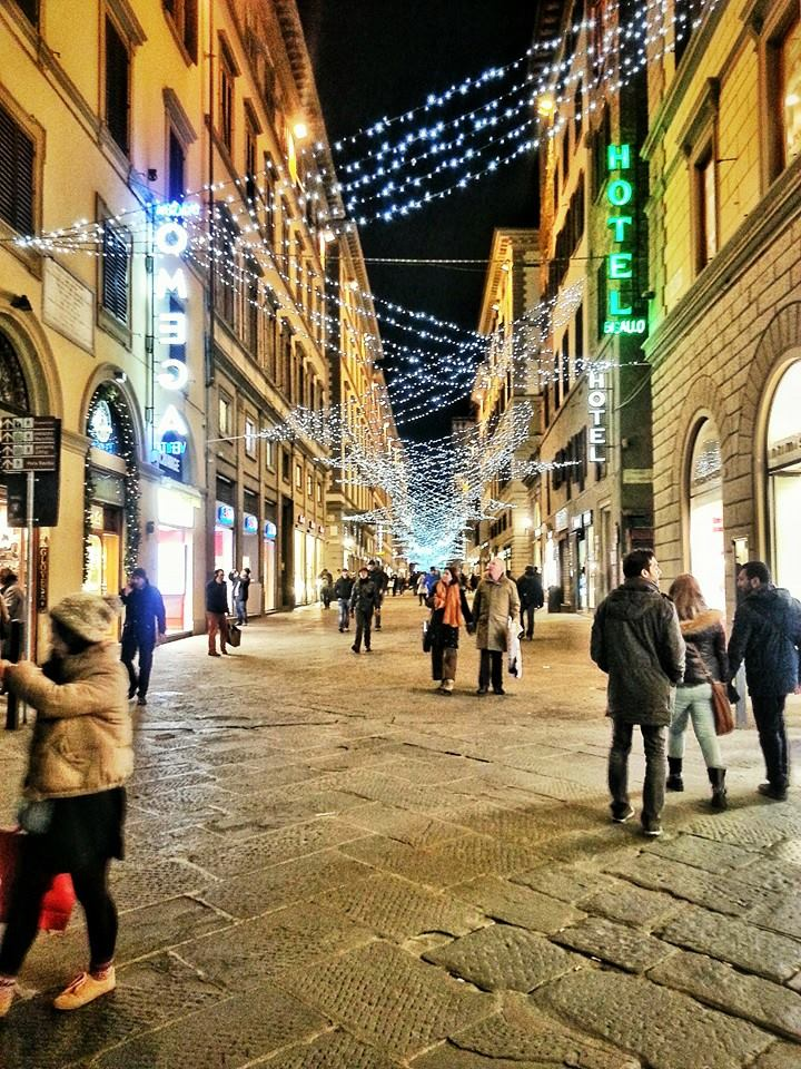 One week in Florence, photo diary in December