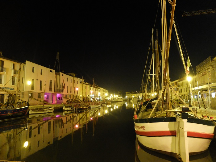 Cesenatico by night | @girlinflorence