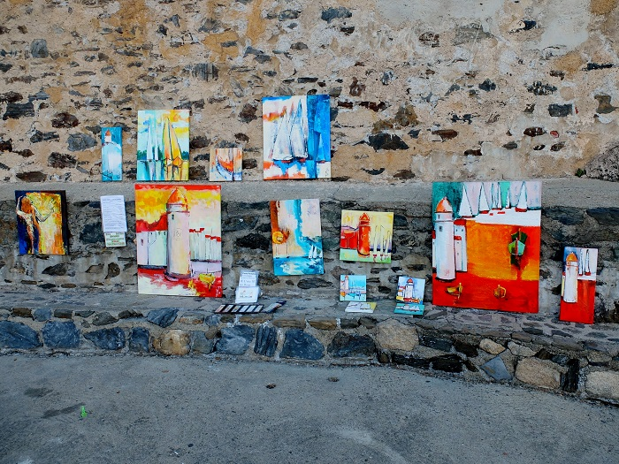 Collioure France paintings @girlinflorence