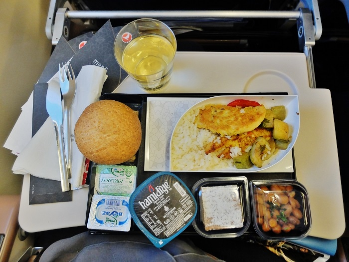 Turkish airlines meal