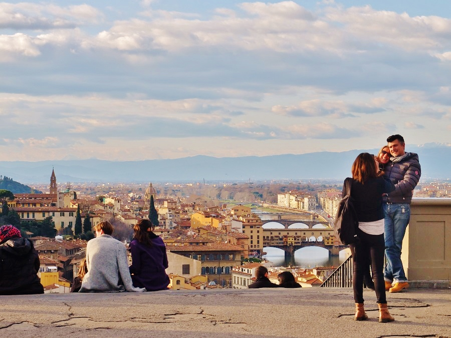 best view of Florence Italy | Girl in Florence