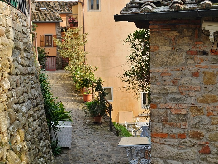 a view of the borgo