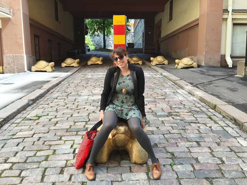 This turtle will certainly be faster than an ATAF bus in Florence
