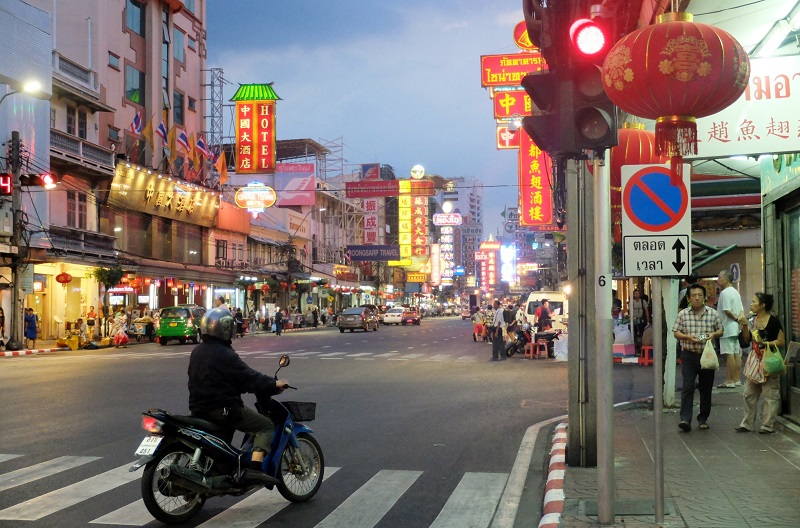 Chinatown in Bangkok, home to street food galore!