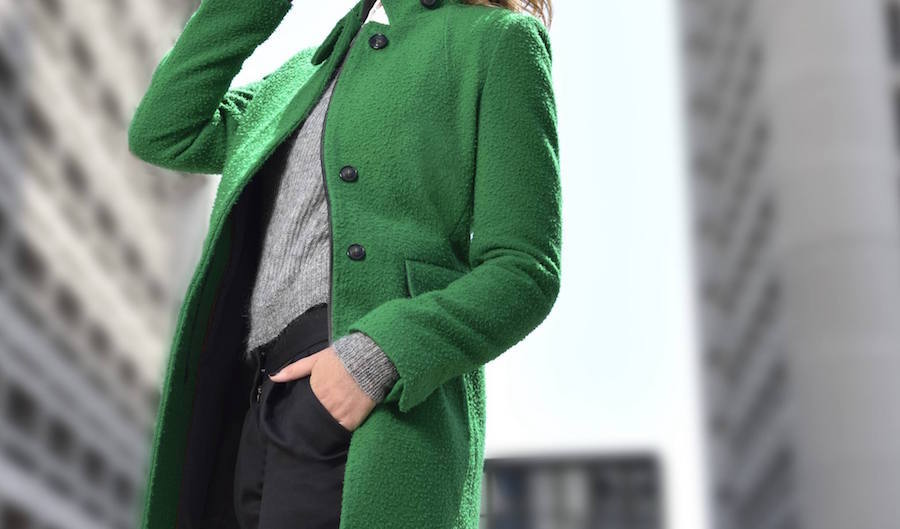 The perfect green coat. Photo credit: Opifici Casentinesi