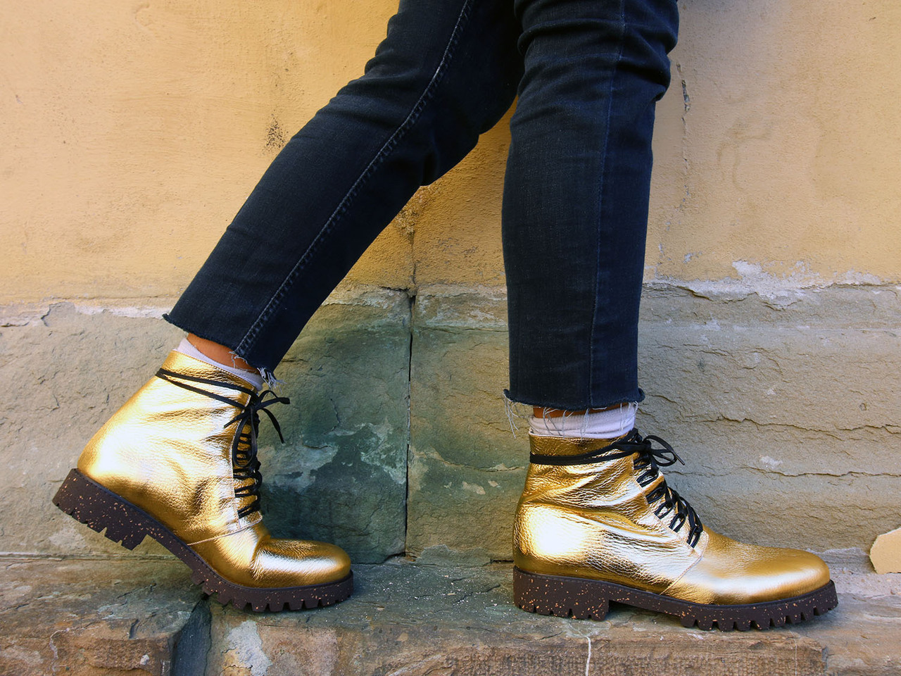 "Photo credit: New Kid ""Gold Boots"""