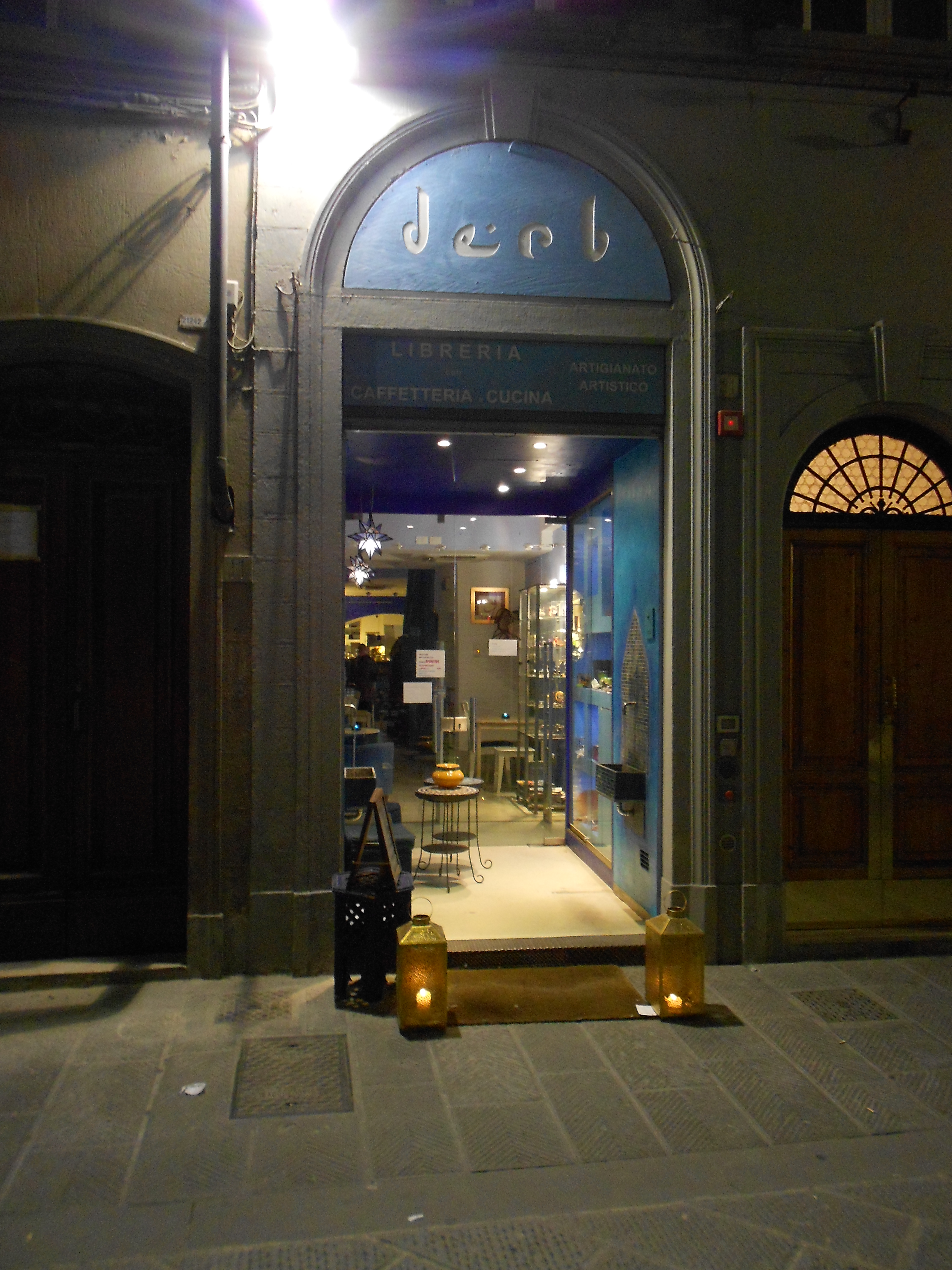 The derb, one of the best spots in Florence to have a good time