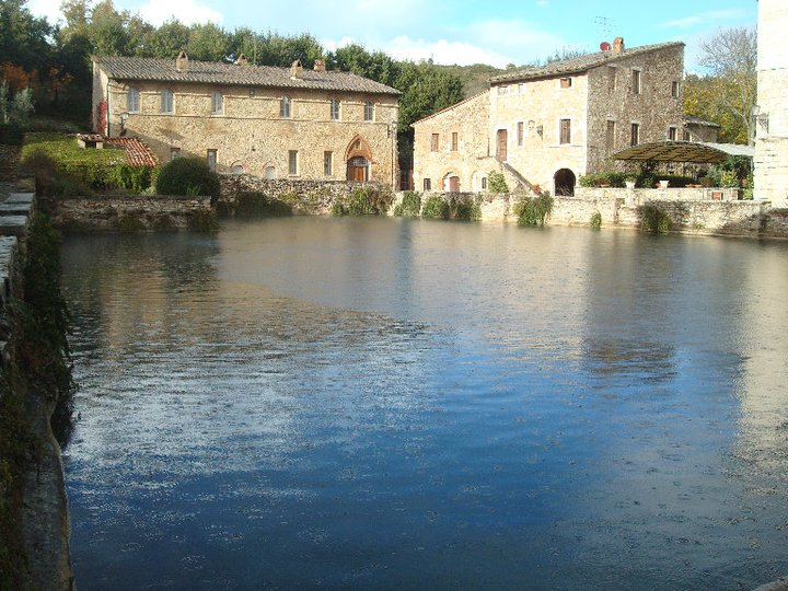 A magical and peaceful place in the village, The Square of Sources