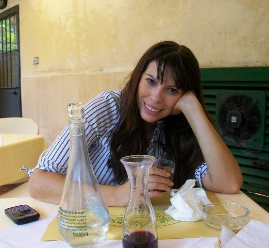 Enjoying a great drink of wine