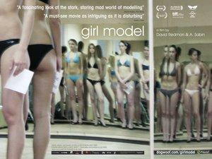 Movie poster of the Girl Model Documentary