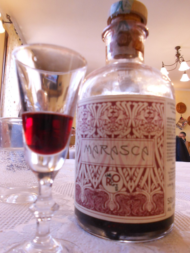 Cherry Liquor that was served to us, is a must try!
