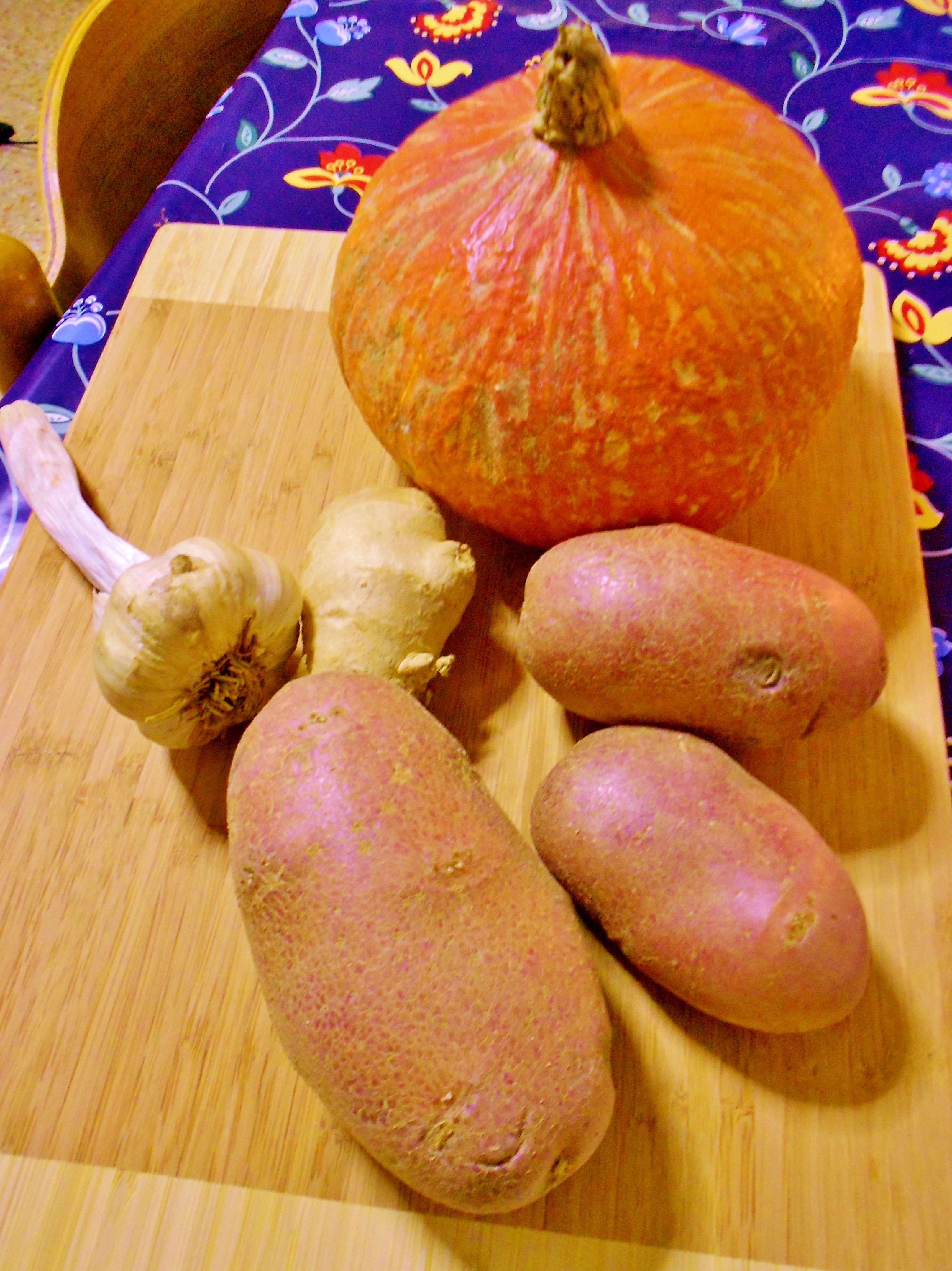 pumpkin soup ingredients