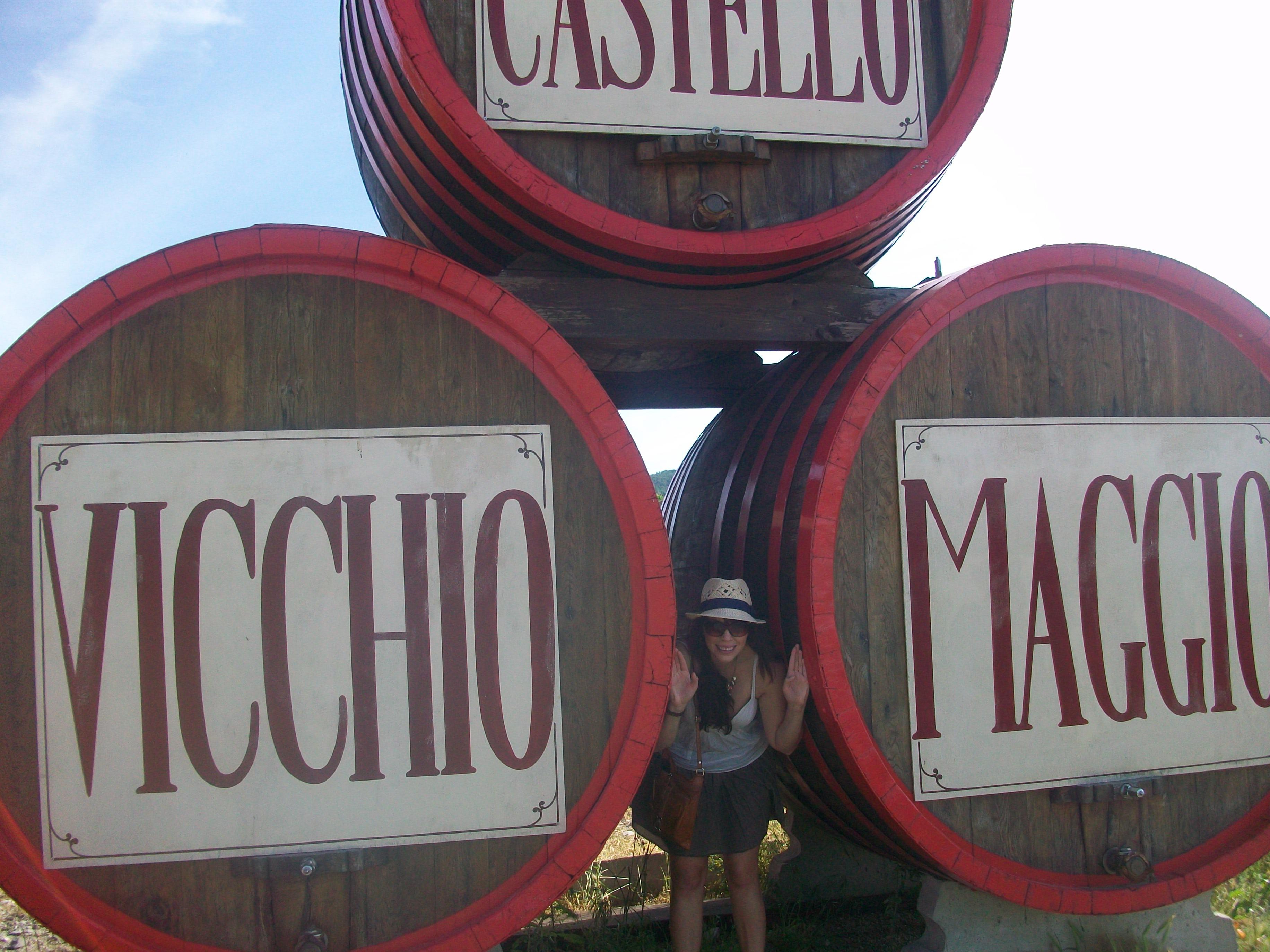 Me at Cantine Aperte 2011