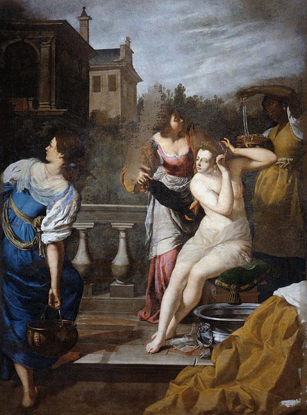 Artemsia Gentileschi 'David and Bathsheba', 1650-c. 1652