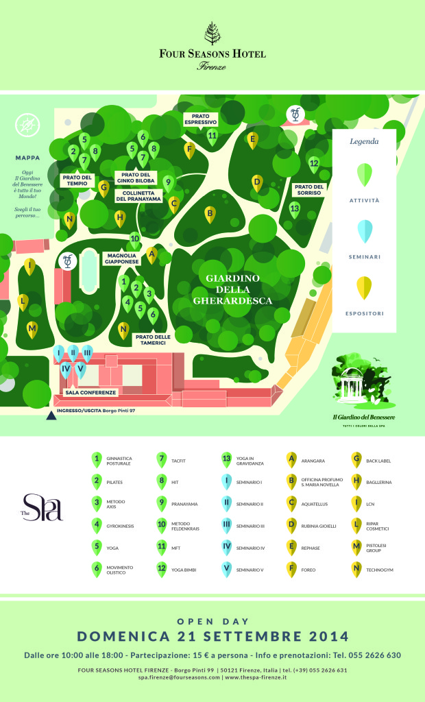 Map Open Day Spa