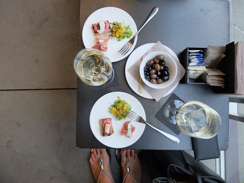 Aperitivo at Gucci Cafe in Florence | Girl in Florence  @girlinflorence