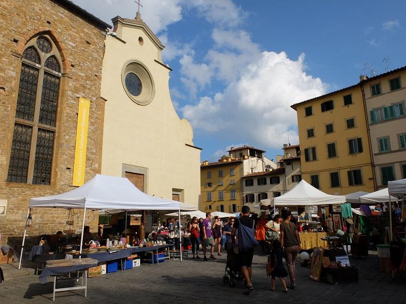 Santo Spirito, Florence | Girl in Florence Blog  @girlinflorence