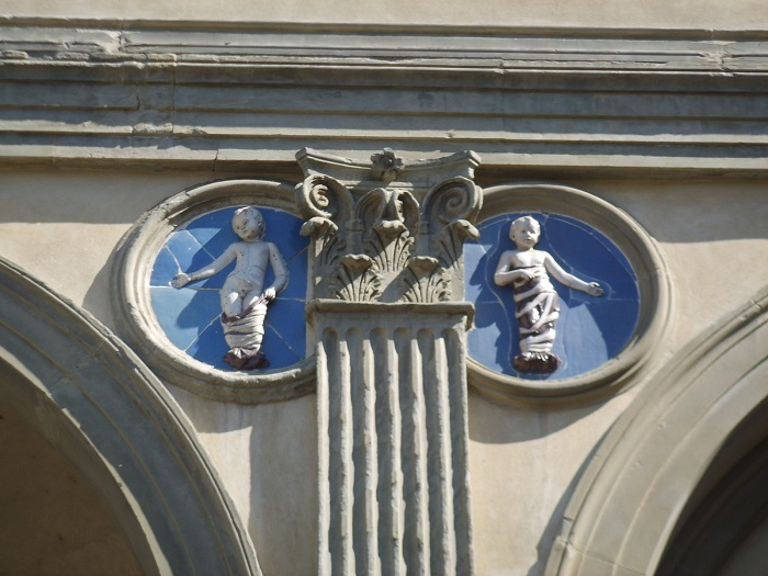 Spedale degli Innocenti: Photo by wikicommons