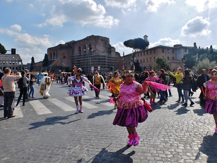 bolivian parade rome