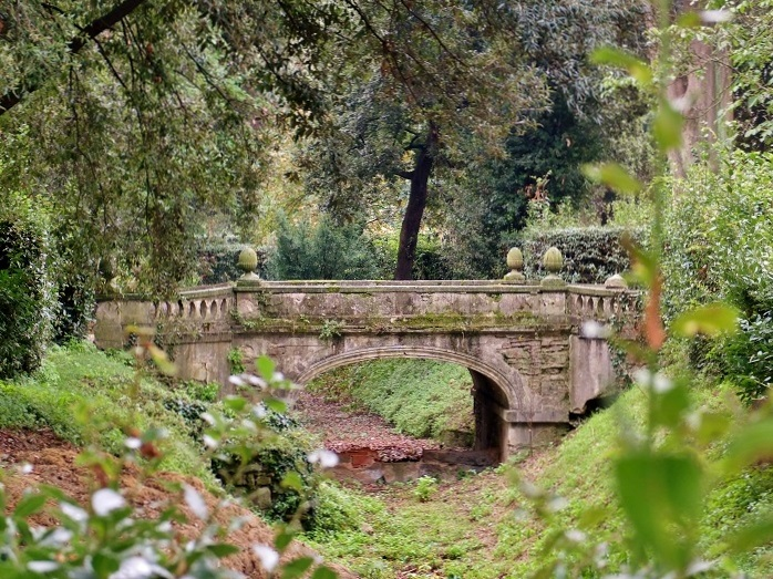 The Torrigiani garden