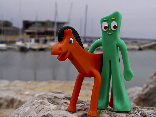 Gumby and pokey, like the rules, they can be stretched in all sorts of ways!