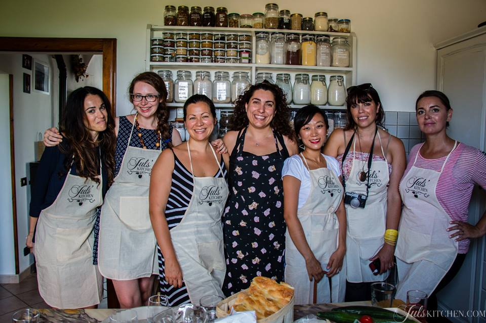 Ladies who lunch (and blog, and take way too many photos). Photo credit: Jul's Kitchen