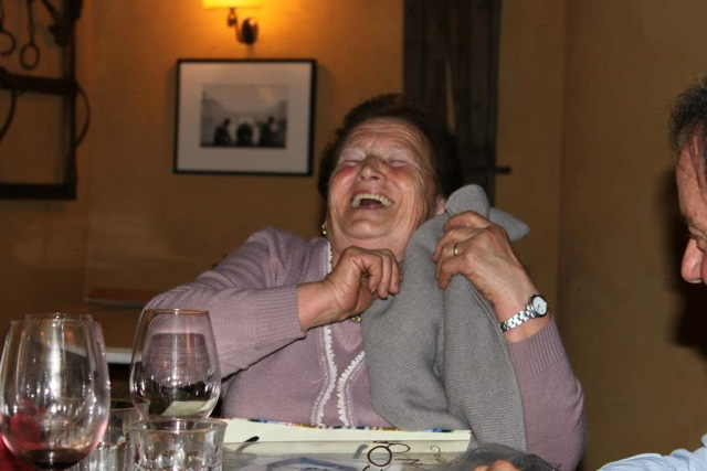 A photo of fabulous Dina, as part of Borgo di Vagli as anything else!