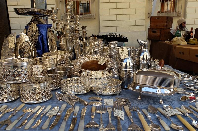 Arezzo Antique Fair - Tuscany- Photo credit: Georgette Jupe