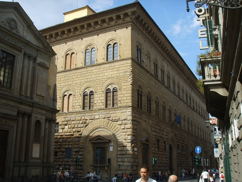 Palazzo Medici Riccardi (exterior): Photo credit: Wikimedia commons, February events