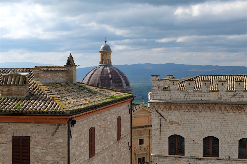 The view from our studio at Brigolante