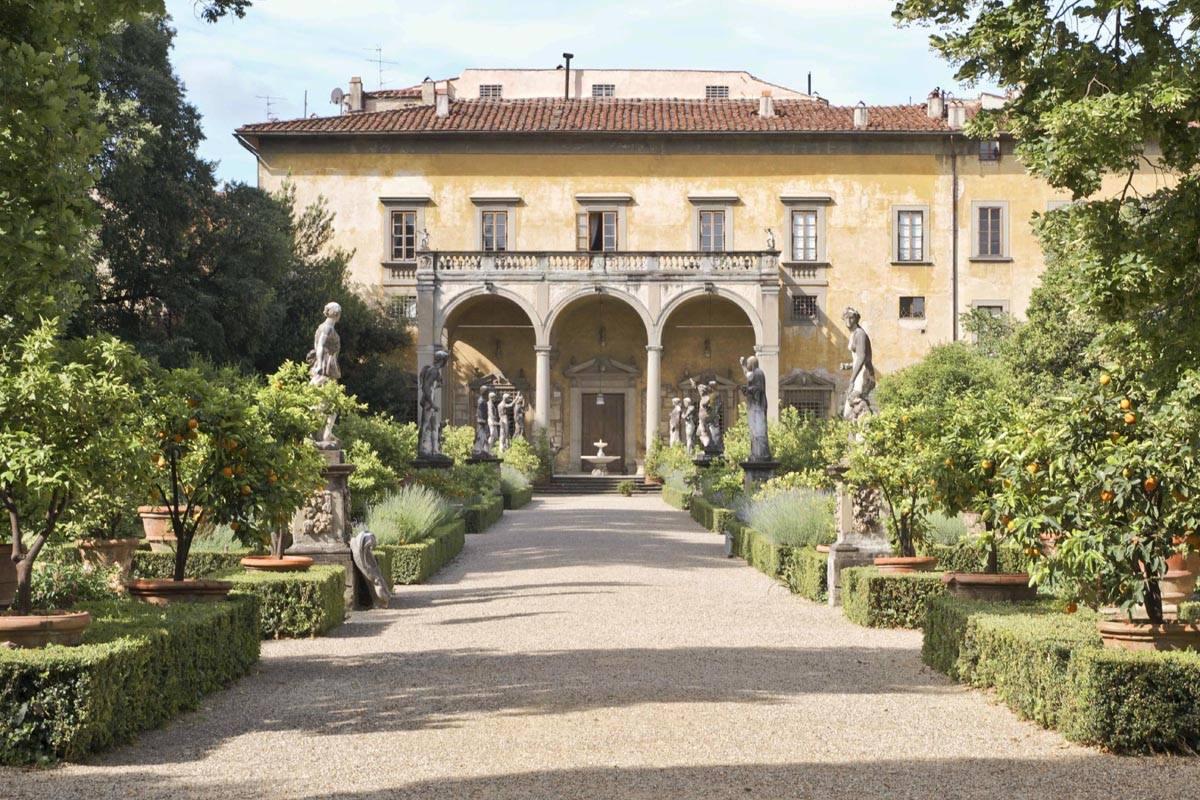 The gardens of Palazzo Corsini