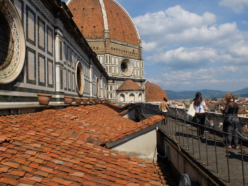 The panoramic view from the Duomo cathedral's external terraces, did you know you can arrange a private tour here?