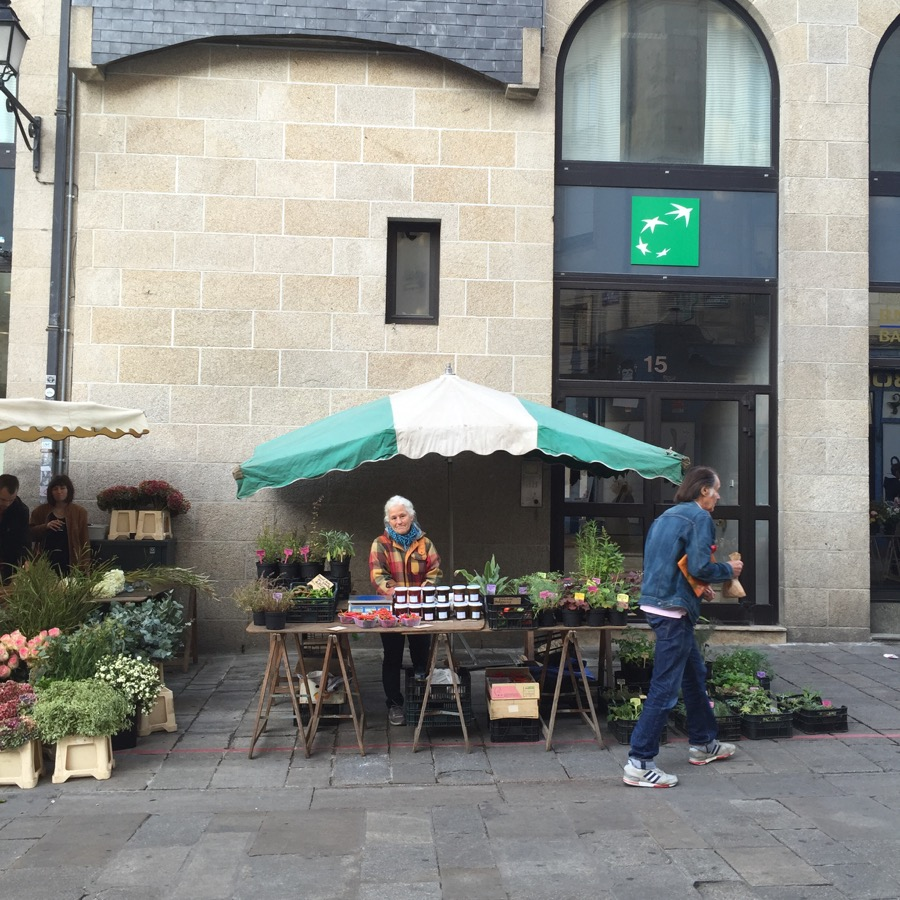 Market day in Rennes, paradise on earth