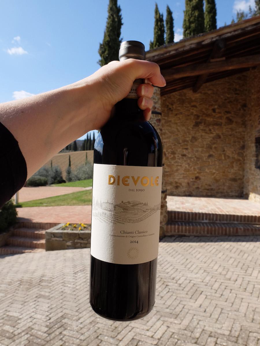 The wine that got Alexandra Drinking ;-). Photo credit: Arttrav