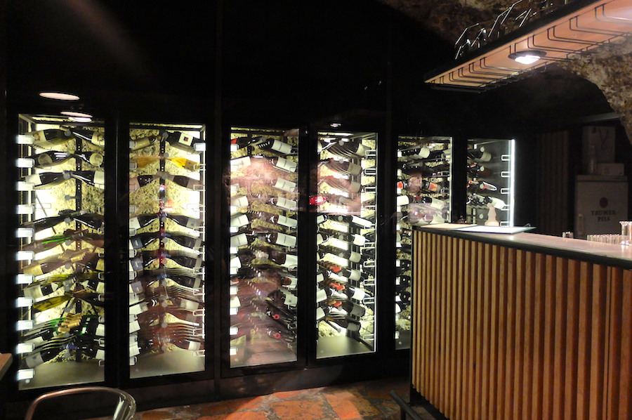 Say hello to my idea of Austrian wine heaven, the sexiest private cellar in Salzburg .