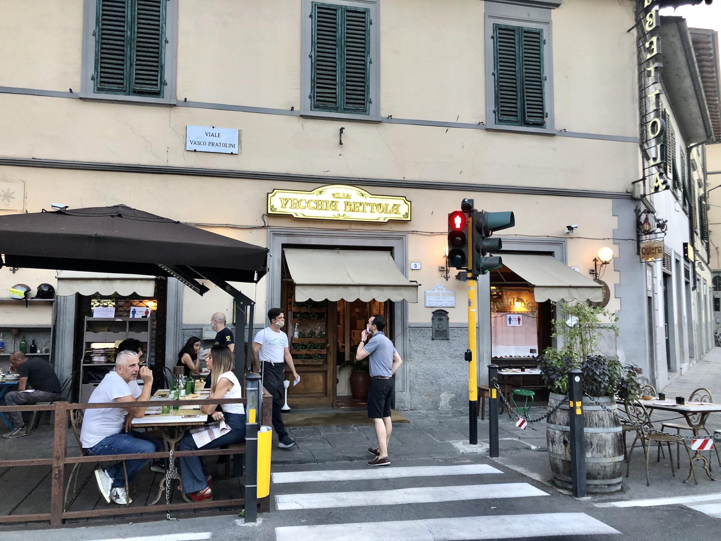 august restaurants florence