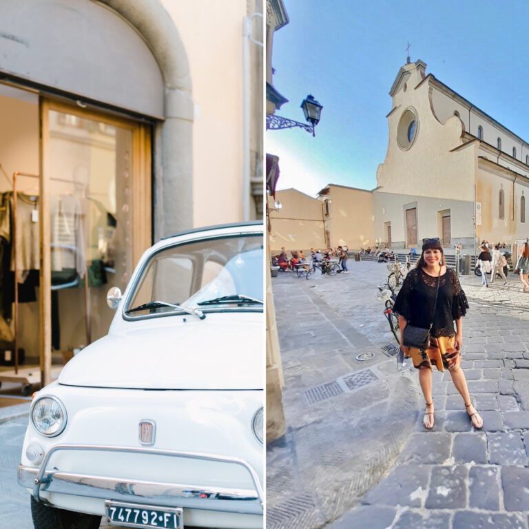sustainable boutique in florence, Italy